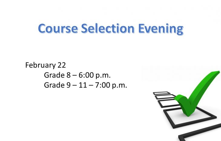 Course Selection Evenings