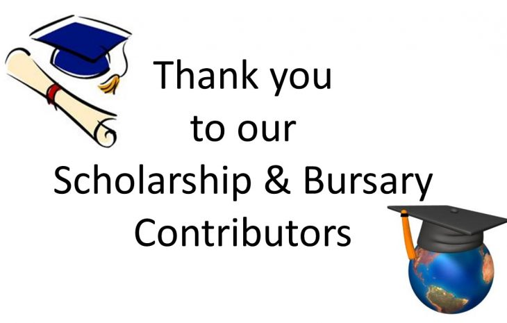 Thank you to our Scholarship Contributors