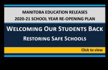 Manitoba Education 20-21 reopening plan